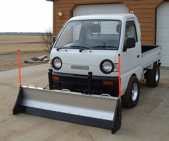 mini truck with plow